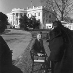 Photographing President Kennedy